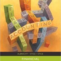 Financial Accounting - W. Steve Albrecht