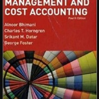 Management and Cost Accounting, 4th Edition - Alnoor Bhimani