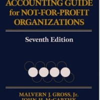Financial and Accounting Guide for Not-for-Profit Organizations,Seven