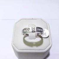 Cincin emas putih kadar 750 berat 4 gram size 19 dan 20 Berkualitas