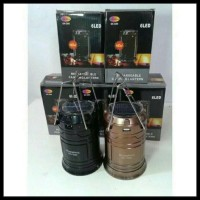 Ready Stock Lampu Lentera Solar + Powerbank \U002F Lampu Tarik \U002F