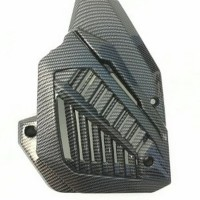 cover radiator karbon vario 125 150 new all pcx sparepart murah