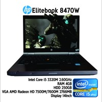 Hot Promo Murah Laptop Gaming core i5 HP Elitebook 8470w cuma 3 jutaan