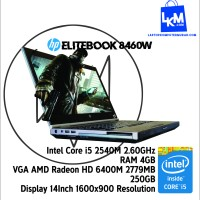 Jual Murah Laptop Gaming Core i5 4gb HP Elitebook 8460w 3 jutaan