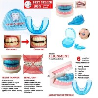 ORTHODENTIC RETAINER TEETH TRAINER ALIGNMENT / BEHEL GIGI / MERAPIKAN