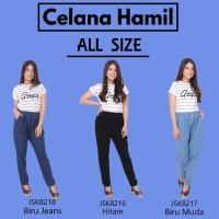 Celana Panjang Hamil Jeans Denim Modis trendy Wanita JSK