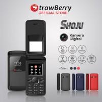 Strawberry Shoju | Handphone Flip Hp Murah Kamera Digital Bluetooth -