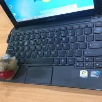 Laptop Bekas Laptop Murah Bekas Lenovo Ideapad S10-3 Atom Free Ongkir