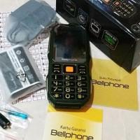 Handphone / Hp Bellphone Bp-128 Teve Tv Powerbank 10.000 Mah