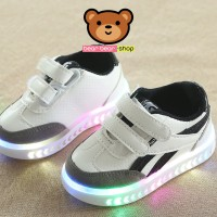 SEPATU LED ANAK SNEAKERS MG NEW MODEL 2018