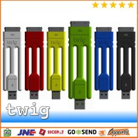 Twig Tripod Ultra Portable USB Cable for iPhone
