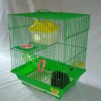 Kandang Hamster Medium Merah