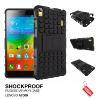 Lenovo A7000 Rugged Shockproof Armor Hybrid Hard Case & Soft Case