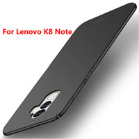 Lenovo K8 Note Hard Case Cover Slim Black Good Quality