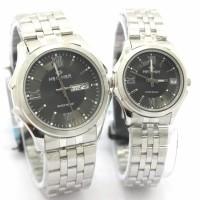 Jam Tangan Hegner 8001 Silver Black Jam Original Murah  Harga Satuan 2a6d650941
