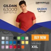 Jual kaos polos gildan softstyle original murah jakarta 2XL Murah