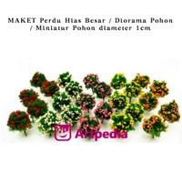 MAKET Perdu Hias kecil /Diorama Pohon /Miniatur Pohon diameter 1 cm