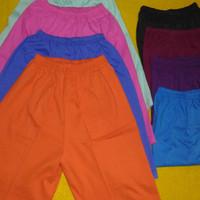 Celana pendek harian anak ukuran XL