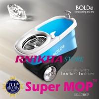 Alat pel SUPER MOP BOLDE SOLITAIRE | tempat sabun, stainless