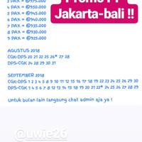Daftar Harga Tiket Promo Pesawat Jakarta Terbaru Januari 2018