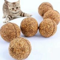 Mainan Kucing Bola Catnip