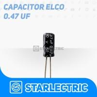 Kapasitor Elco 0.47 uF 0.47uF 50V
