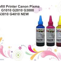 Tinta Refill Printer Canon Pixma DYE G1010 G2010 G3000 G3010 G4010 NEW