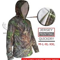 kaos camo realree oak panjang hoodie (perbakin, hunting story)