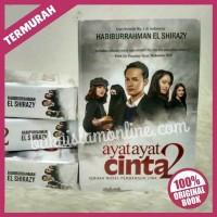 TERLARIS Terbaru!! Novel Ayat Ayat Cinta 2 ORIGINAL - Habiburrahman El