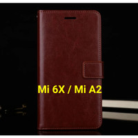 Flip Cover Xiaomi Mi 6X / A2 Mi6X MiA2 Wallet Leather Case Casing HP