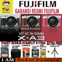 Harga kamera mirrorless fujifilm x a3 promo paket mewah terbaik   Pembandingharga.com