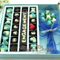 Cokelat Trulychoco hadiah pernikahan kado ulang tahun
