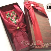 Kado bunga special cokelat trulychoco