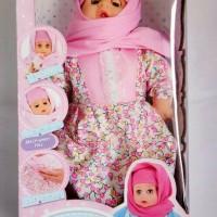 Harga promo boneka teman bermain dan belajar anisa hijab dengan mode | Pembandingharga.com