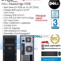 DELL PowerEdge T130 Intel Xeon E3-1220v6/8GB/1TB/DVDRW/3YR