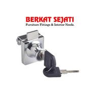 Kunci Lemari / Etalase Kaca Jepit Pintu SINGLE