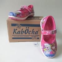 Sepatu Anak Wanita Cewek Perempuan Karakter Disney Frozen Pink