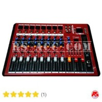 PROMO Audio Mixer Smr 801 (8 Channel Full ) Blueooth Murah Berkualitas