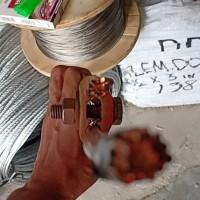 Material Penangkal Petir Kross Klem Kuningan Lapis Tembaga