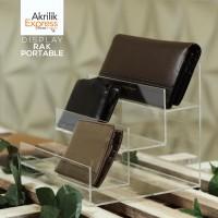 Display dompet / tempat dompet / dompet akrilik