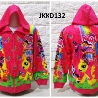 Jaket Anak Little Pony & Friends Pink Jaket Anak Perempuan - JKKD132