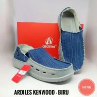 Harga sepatu pria ardiles kenwood biru sepatu slip on original high | antitipu.com