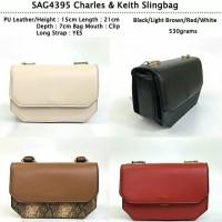 SAG4395. C&K Slingbag Import (tas selempang) Bahan PU Leather