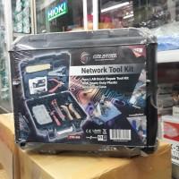 GOLDTOOL TTK-368 ( 9 Piece Lan Basic Repair Toolkit )