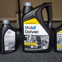 Oli Mobil Delvac MX 15W40 Paket 8 Liter