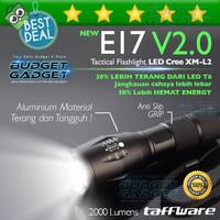 UPGRADE Taffware E17 V2.0 Senter LED Tactical Cree XM-L2 2000 Lumens