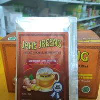 Jahe Jreeng Sachet : Jahe Instan Plus Herbal Stamina Khusus Pria
