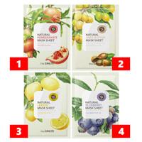 Harga the saem natural pomegranate mask sheet melembabkan dan membuat | antitipu.com