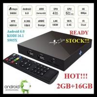 Android Tv Box X96 2Gb 16Gb S905X Smart Internet Media Player