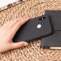 ORIGINAL Xiaomi Mi 8 Case Silicone - Black